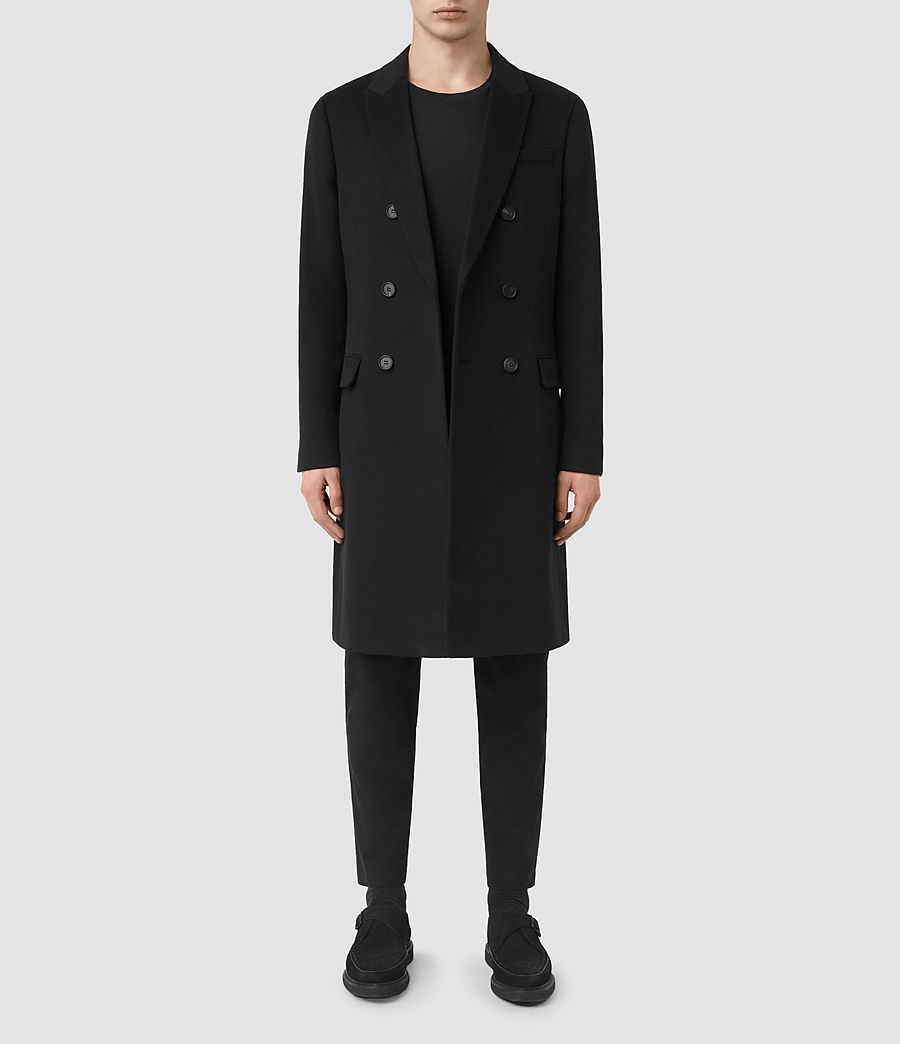 Mens Strand Coat (black) - Image 1