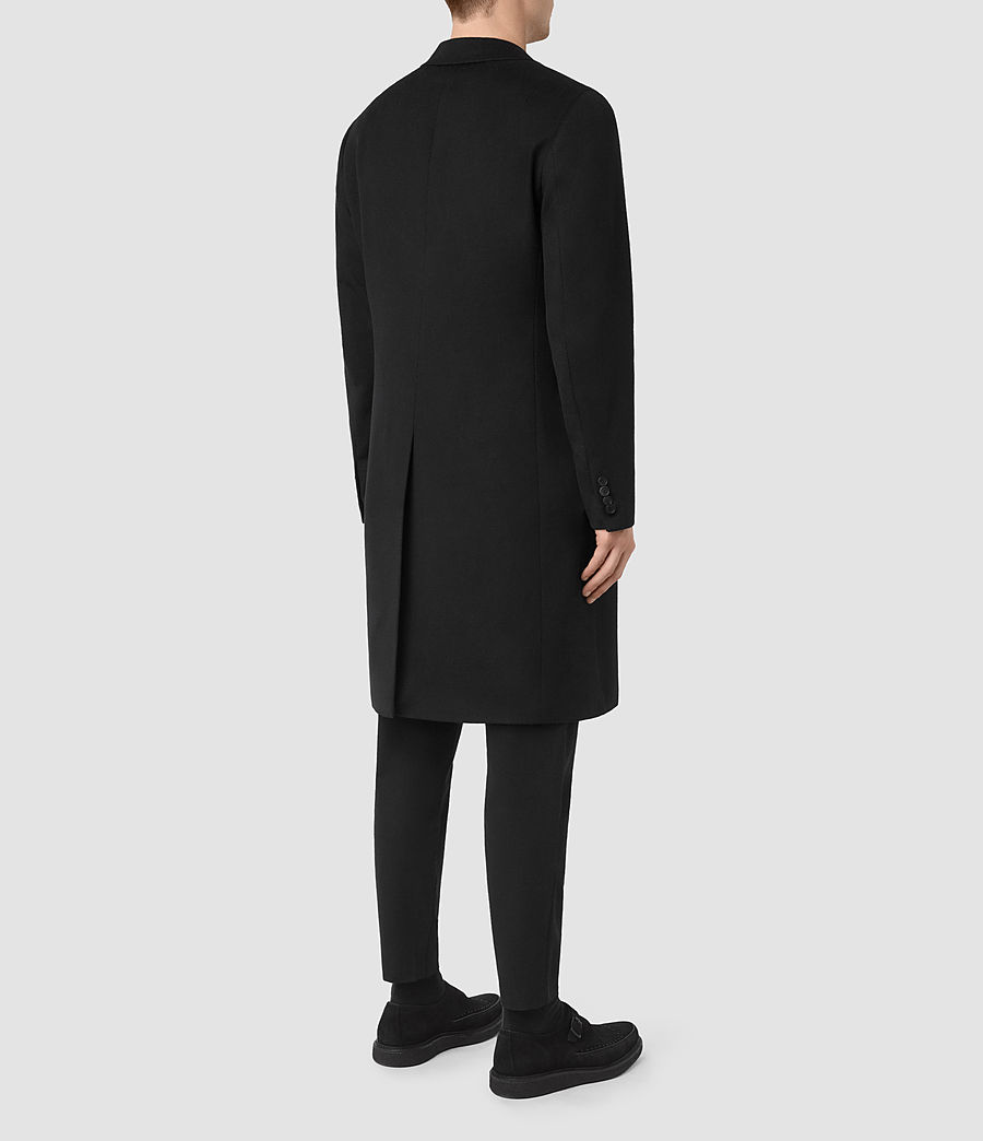 Mens Strand Coat (black) - Image 4