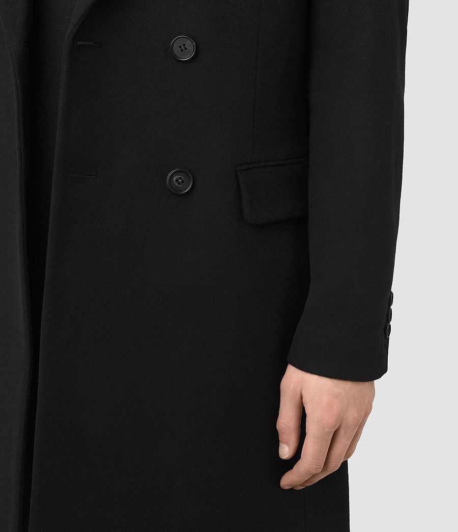 Mens Strand Coat (black) - Image 5