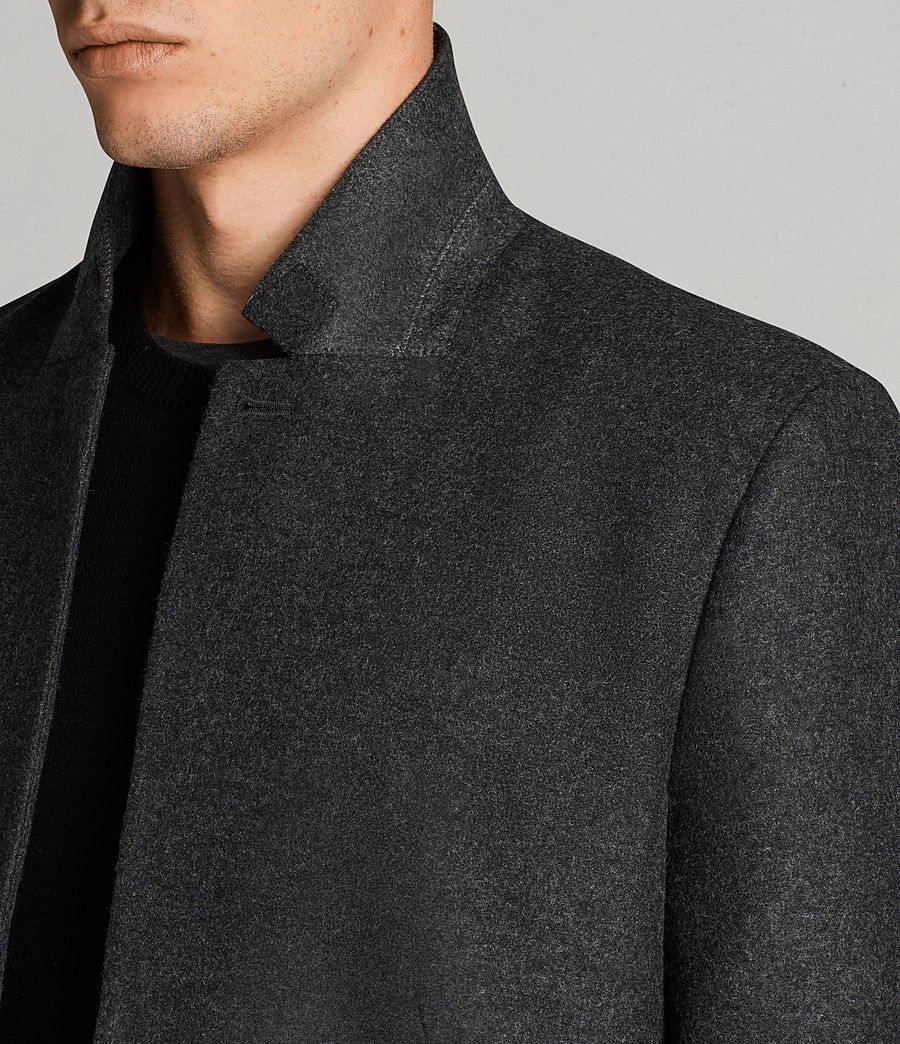 Men's Meka Coat (charcoal_grey) - Image 2