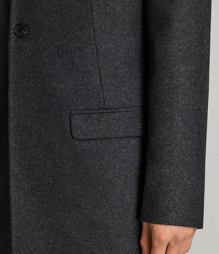 Men's Meka Coat (charcoal_grey) - Image 4