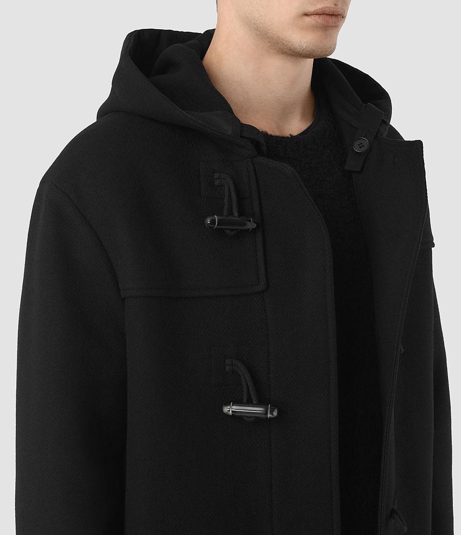 Hombre Abrigo Murrow Duffle (black) - Image 3