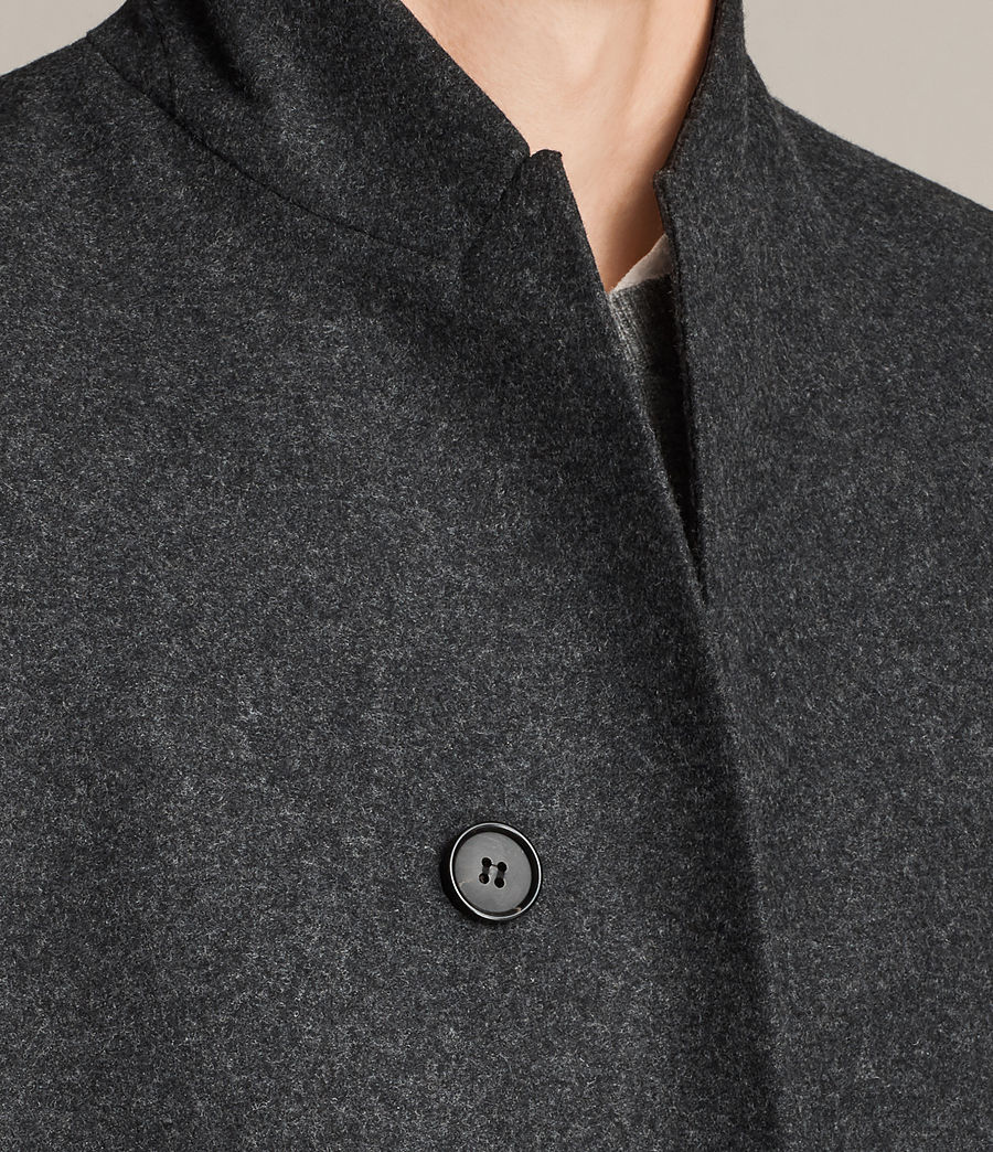 Mens Kessler Coat (charcoal_grey) - Image 2