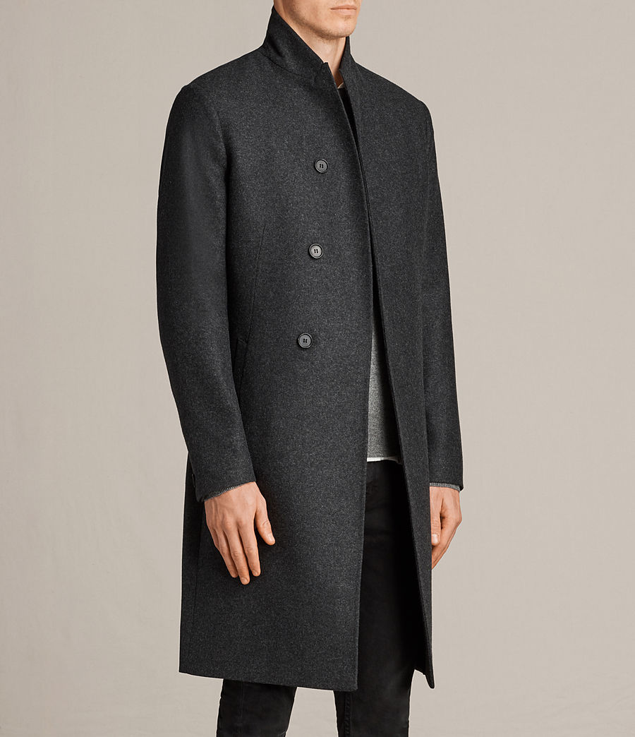 Mens Kessler Coat (charcoal_grey) - Image 3