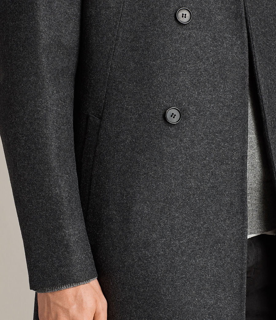 Mens Kessler Coat (charcoal_grey) - Image 4