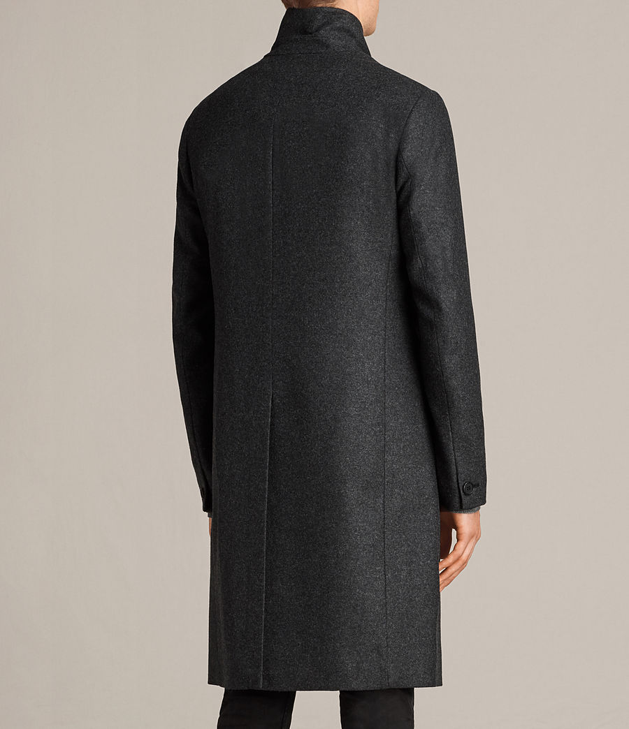 Mens Kessler Coat (charcoal_grey) - Image 6
