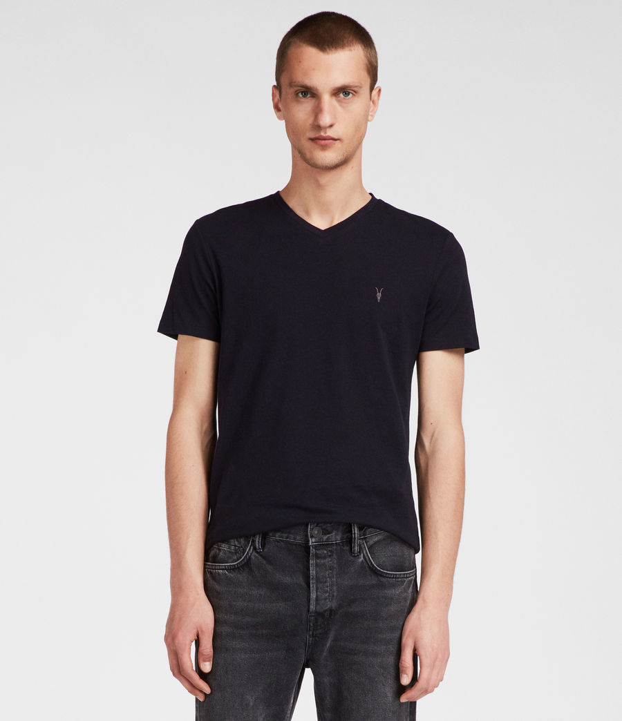 Men's Tonic V-neck T-Shirt (ink_navy) - Image 2