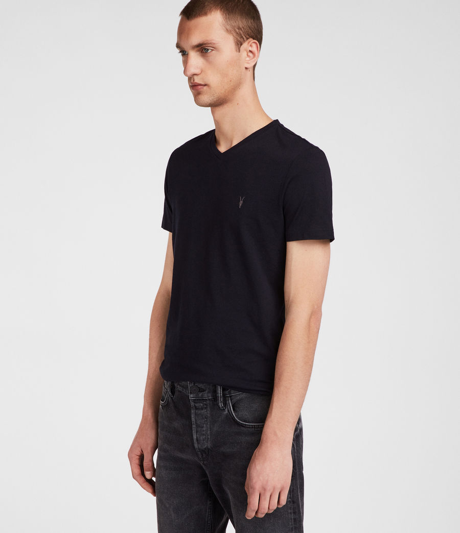 Men's Tonic V-neck (ink_navy) - Image 3