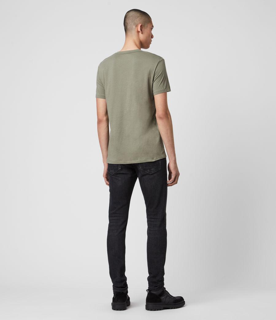 Hombres Tonic V-Neck T-Shirt (olive_green) - Image 3