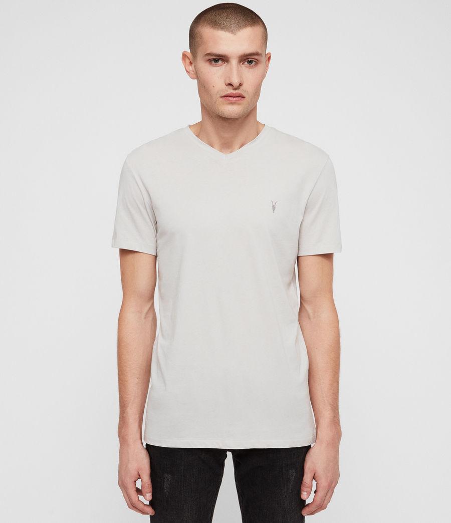 Hombres Camiseta Tonic V (lunar_grey) - Image 1