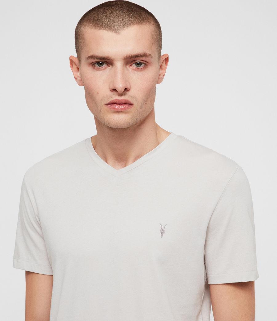 Hombres Camiseta Tonic V (lunar_grey) - Image 2