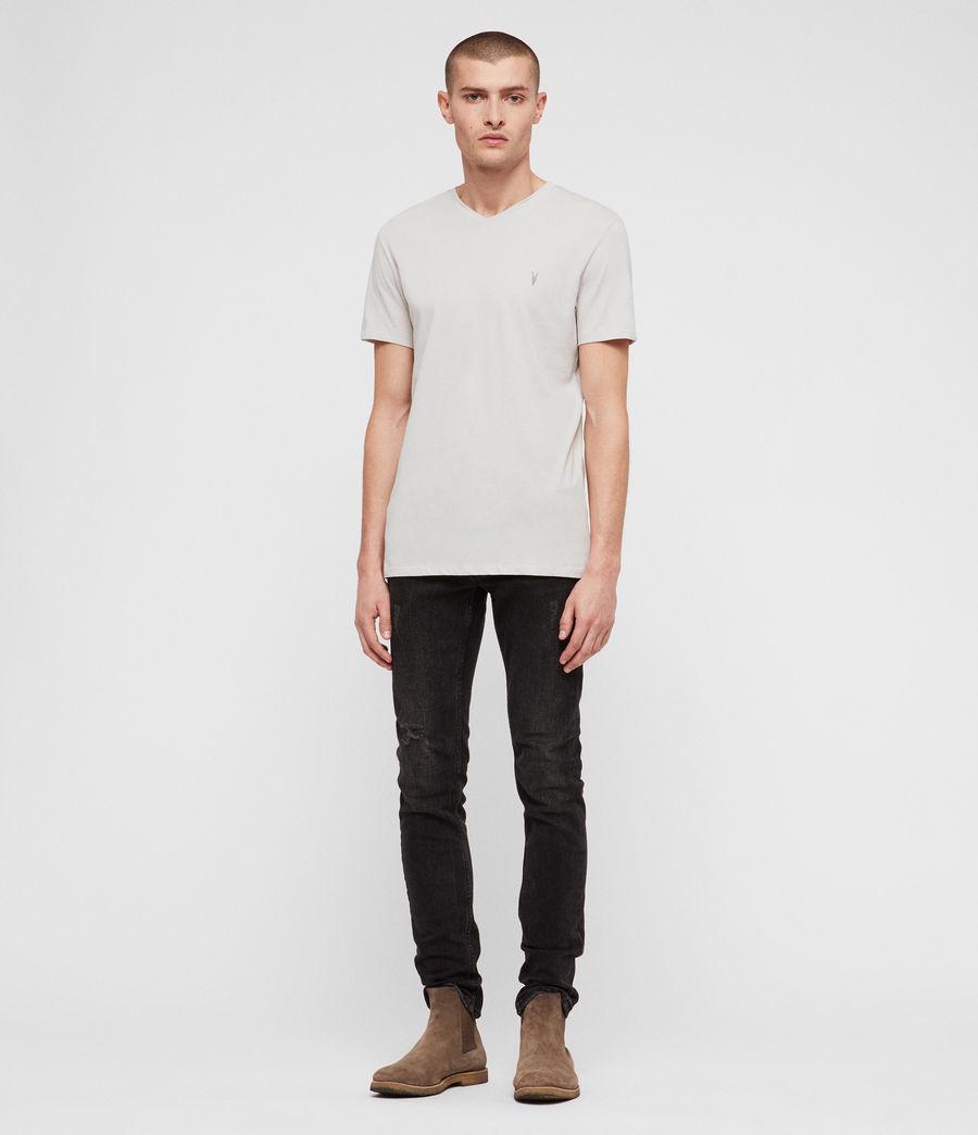 Hombres Camiseta Tonic V (lunar_grey) - Image 3