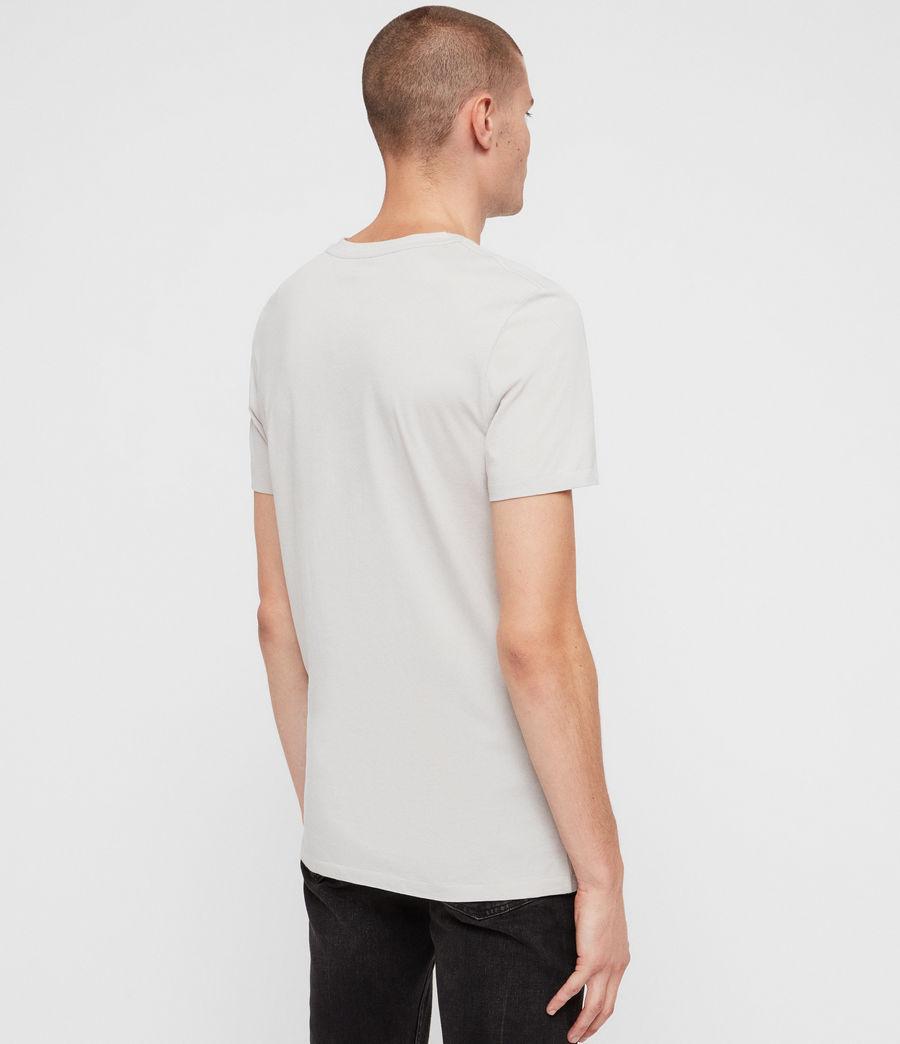 Hombres Camiseta Tonic V (lunar_grey) - Image 4