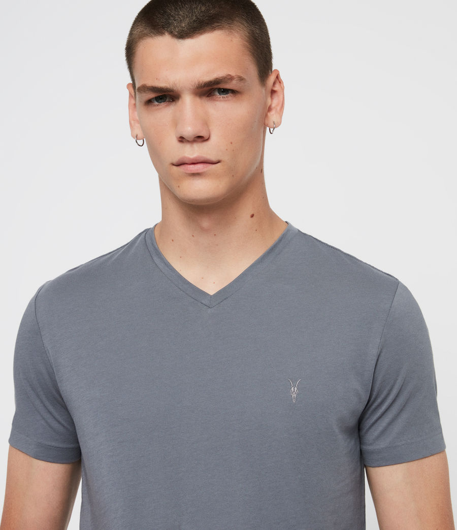 Mens Tonic V-Neck T-Shirt (ash_blue) - Image 2
