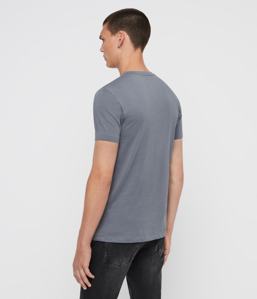 Mens Tonic V-Neck T-Shirt (ash_blue) - Image 5