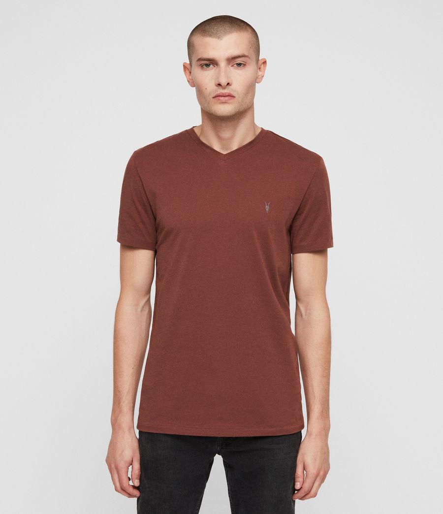 Men's Tonic V-neck T-Shirt (cedar_red) - Image 1
