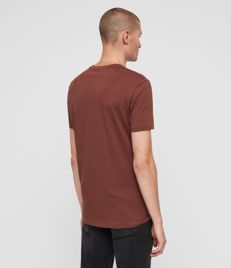 Men's Tonic V-neck T-Shirt (cedar_red) - Image 5