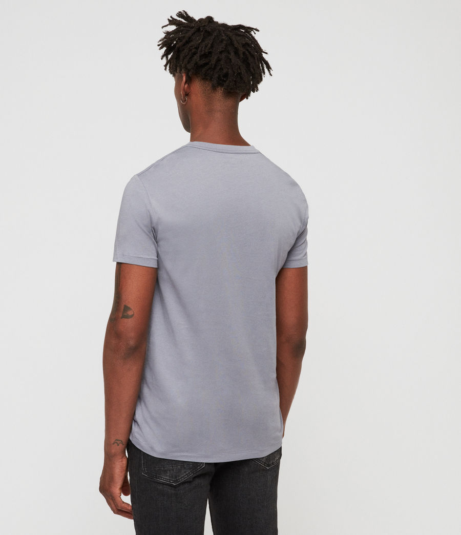 Men's Tonic V-Neck T-Shirt (detroit_blue) - Image 4
