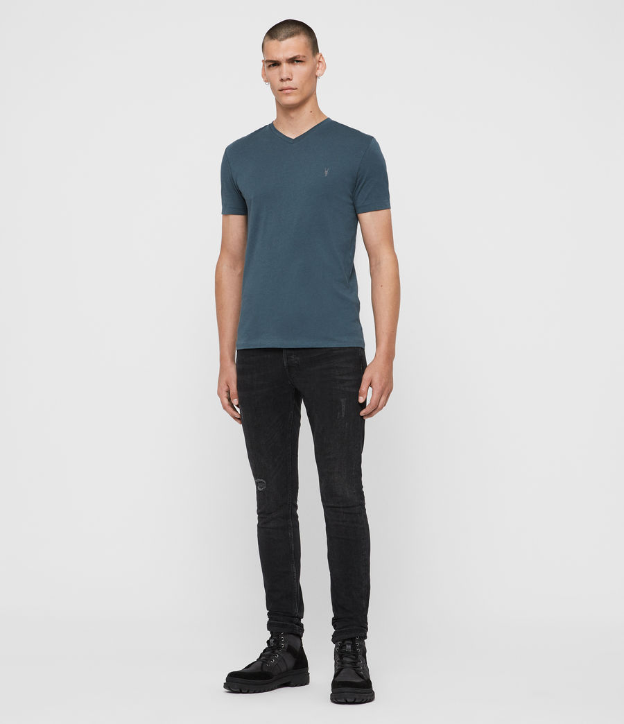 Men's Tonic V-Neck T-Shirt (vault_blue) - Image 3