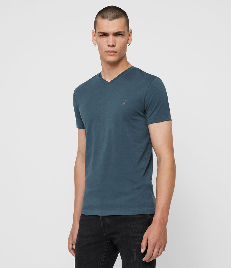 Men's Tonic V-Neck T-Shirt (vault_blue) - Image 4