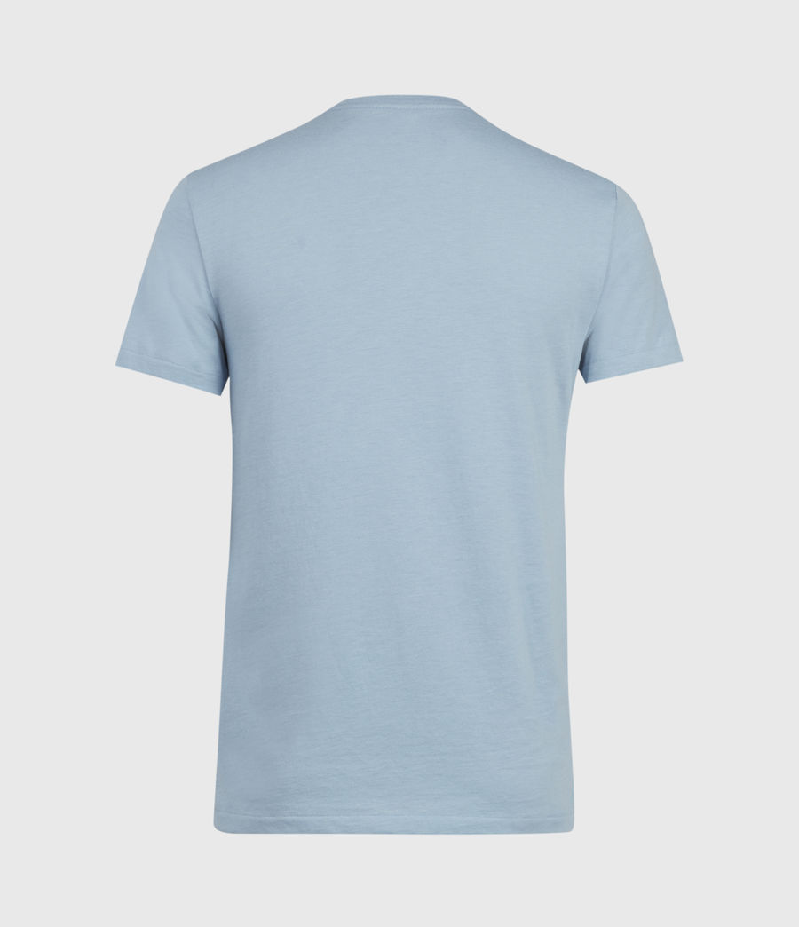 Hommes Tonic V-Neck T-Shirt (ceramic_blue_marl) - Image 2