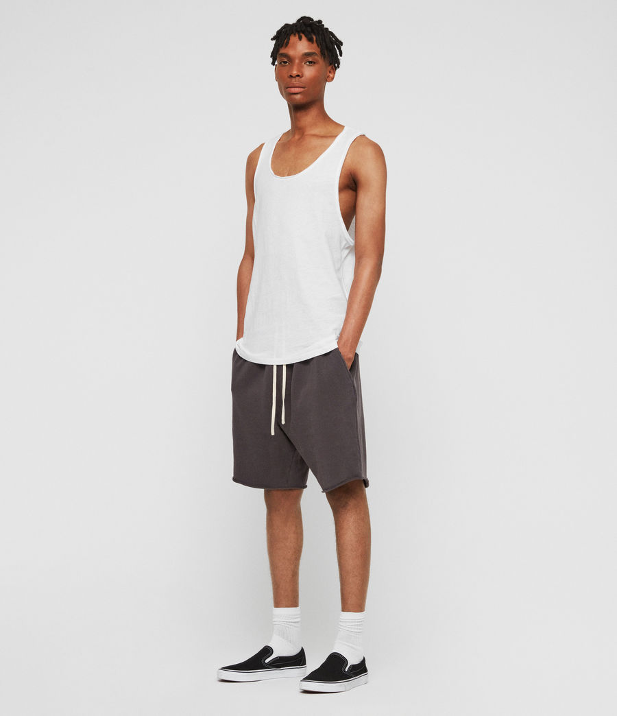 Men's Figure Vest (optic_white) - Image 2