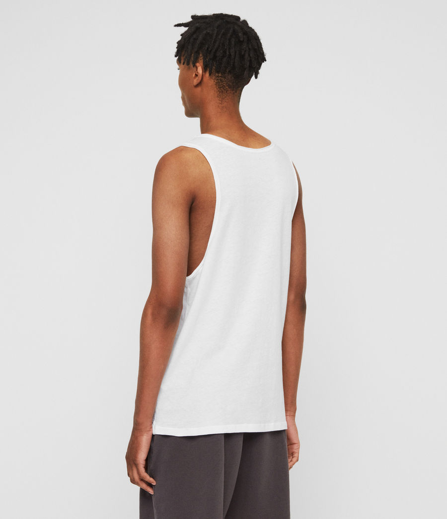 Men's Figure Vest (optic_white) - Image 4