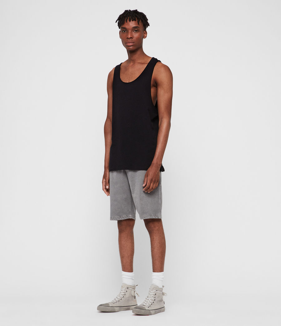 Mens Figure Tank (jet_black) - Image 2