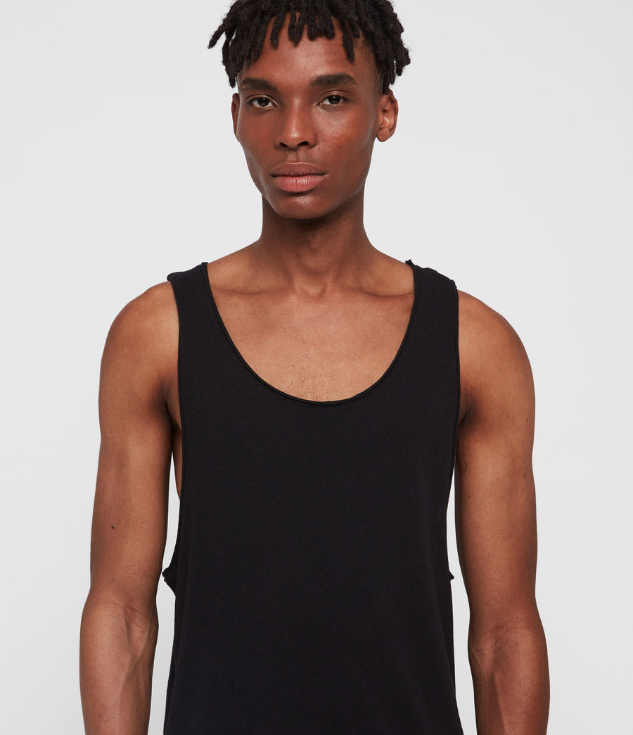 Mens Figure Tank (jet_black) - Image 3