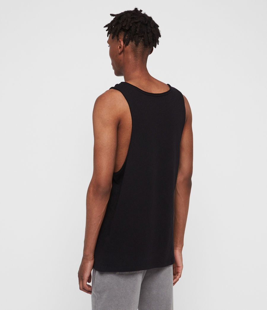 Mens Figure Vest (jet_black) - Image 4