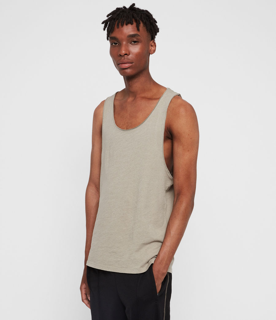 Men's Figure Vest (sutro_grey) - Image 1