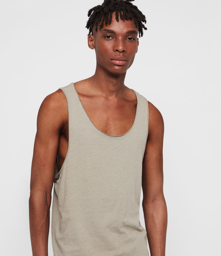 Men's Figure Vest (sutro_grey) - Image 2