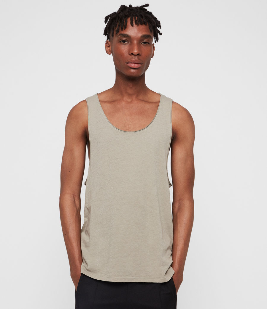 Men's Figure Vest (sutro_grey) - Image 4