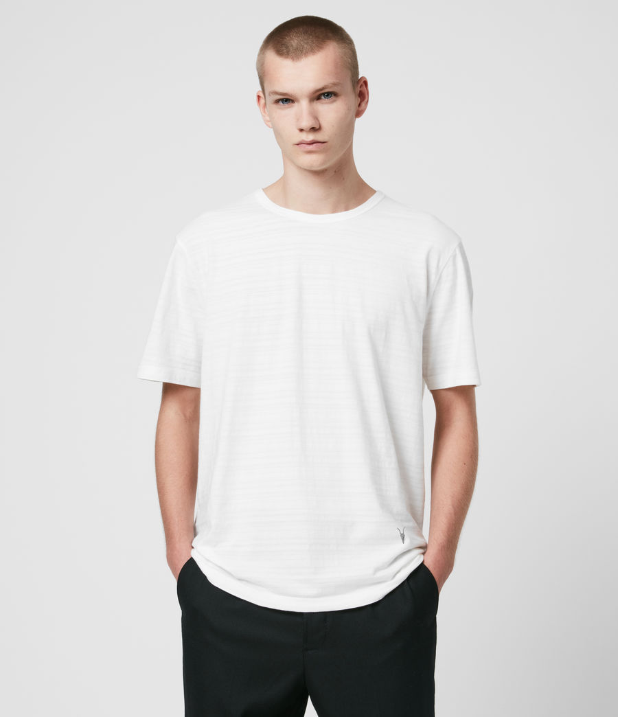 Men's Aldwin Crew T-Shirt (chalk_white) - Image 1