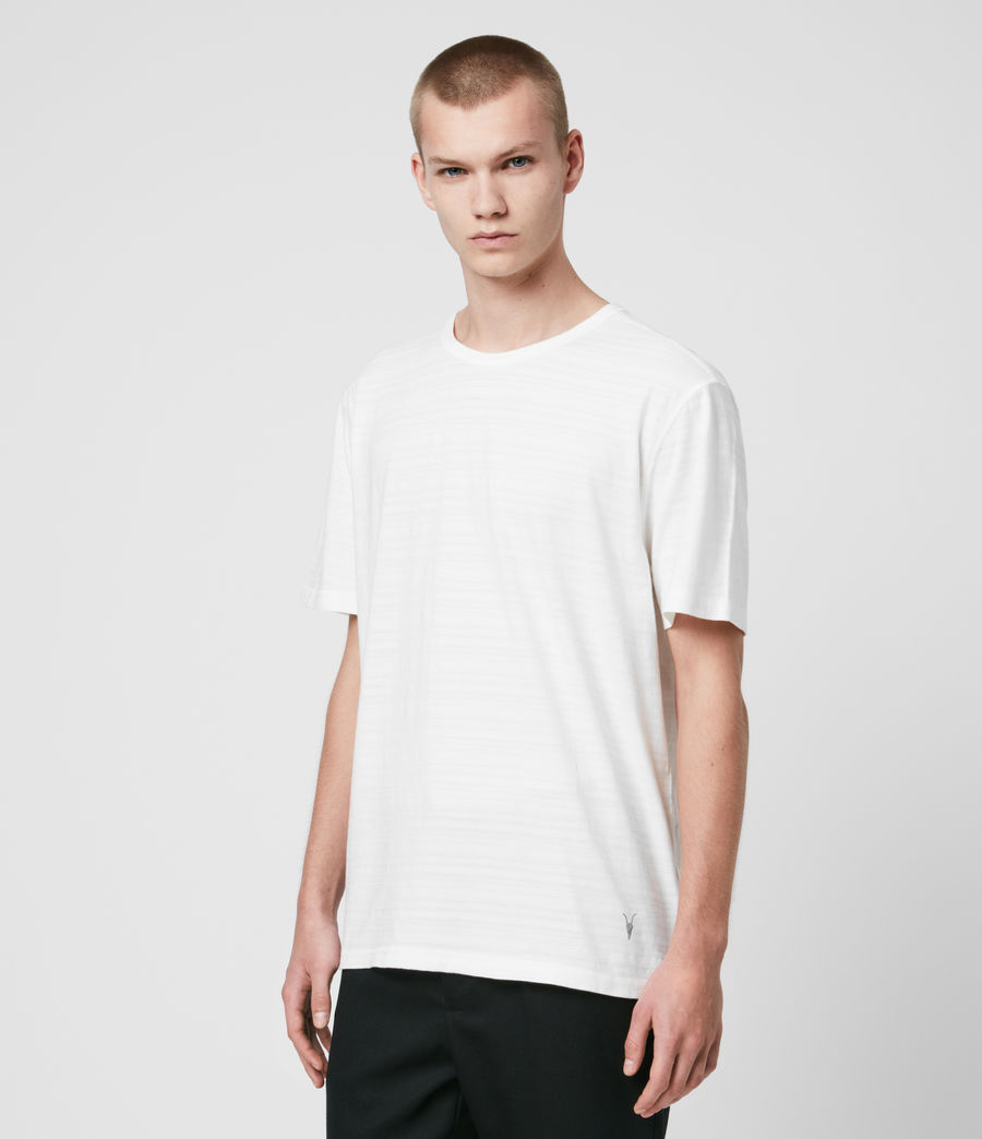Men's Aldwin Crew T-Shirt (chalk_white) - Image 4
