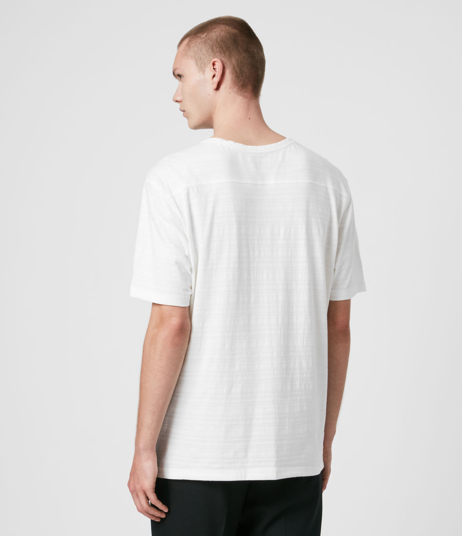 Men's Aldwin Crew T-Shirt (chalk_white) - Image 5
