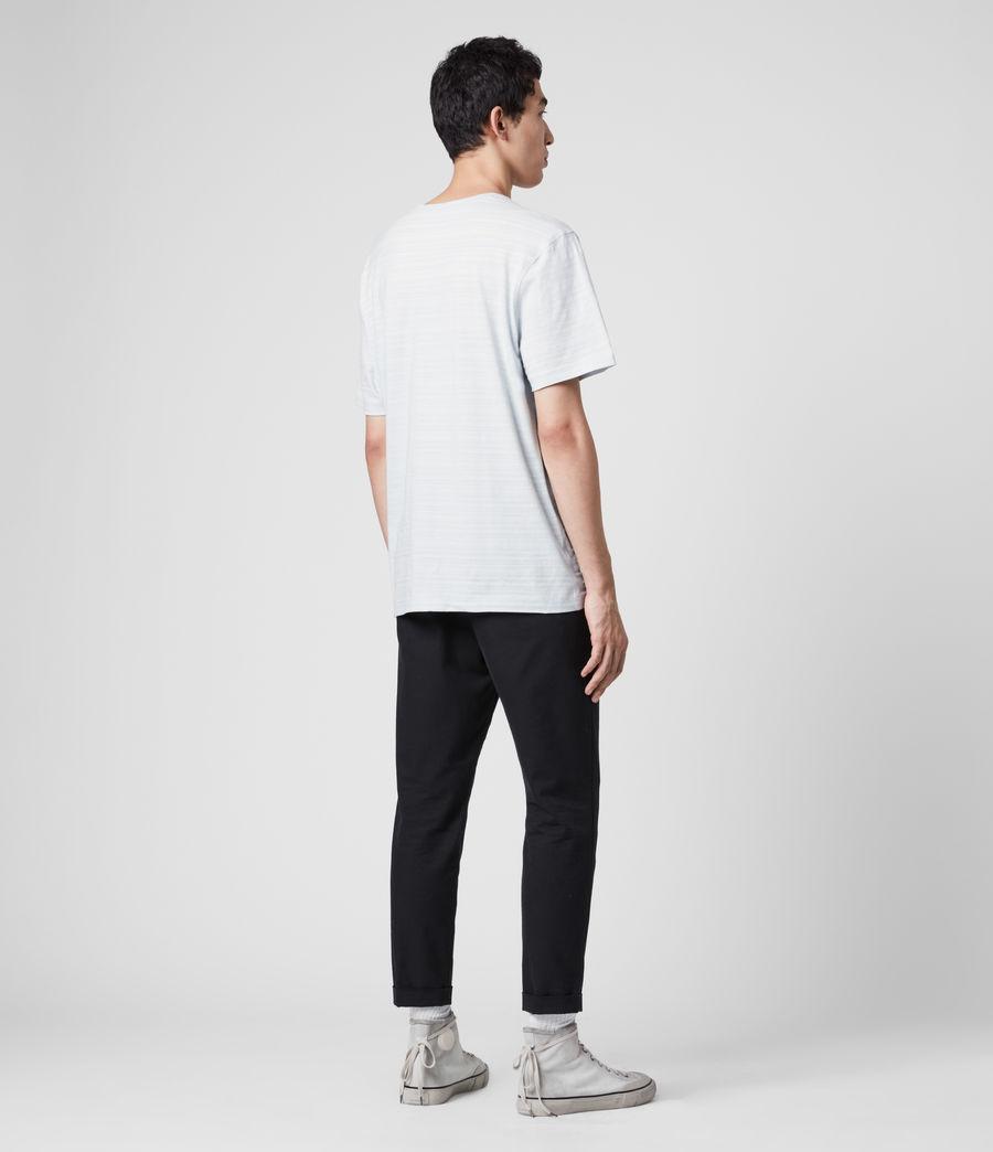 Hommes T-Shirt en Coton Texturé Aldwin (mineral_blue) - Image 5