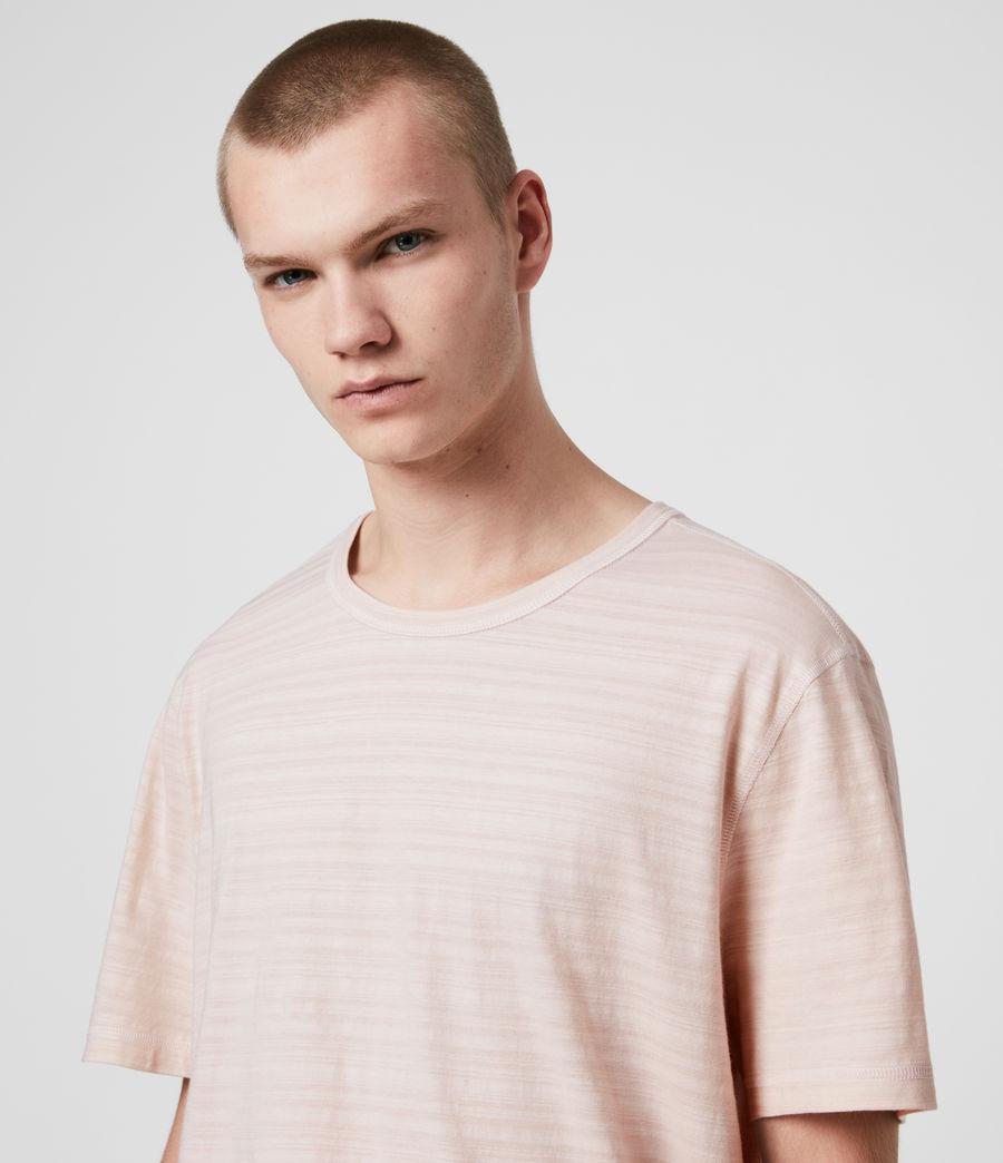 Mens Aldwin Crew T-Shirt (mineral_blue) - Image 2