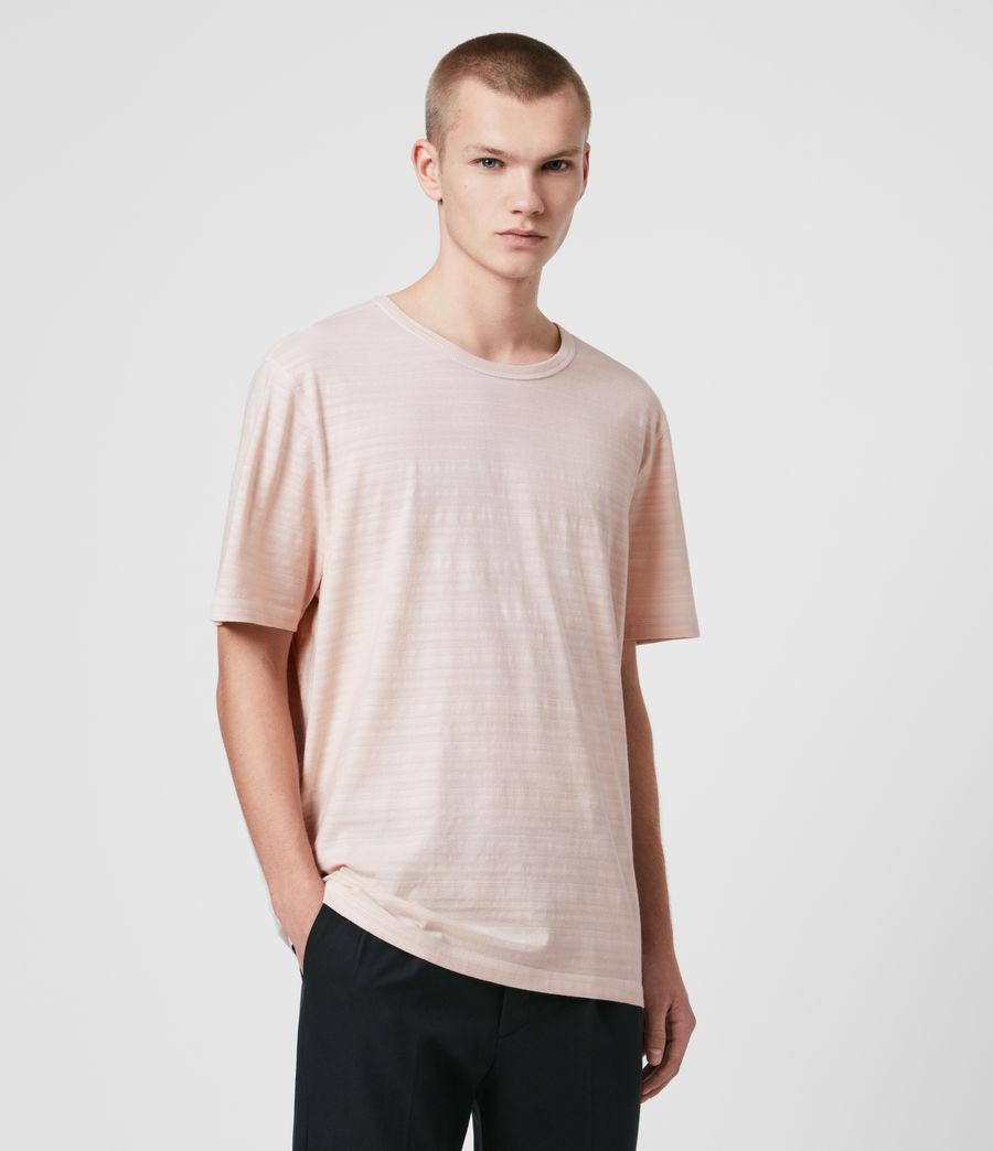 Mens Aldwin Crew T-Shirt (mineral_blue) - Image 4