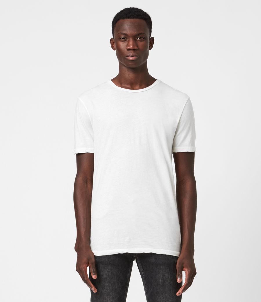 Mens Kershaw Crew T-Shirt (chalk_white) - Image 1