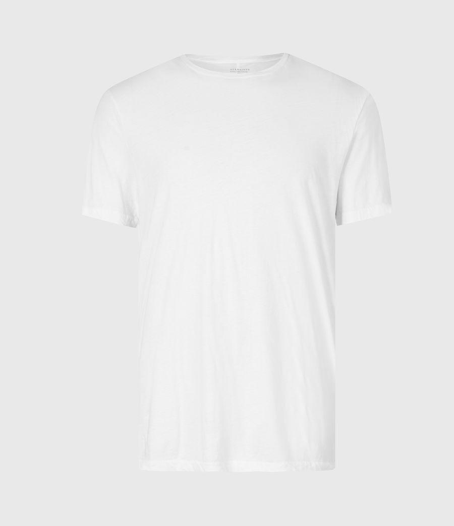 Mens Kershaw Crew T-Shirt (chalk_white) - Image 2