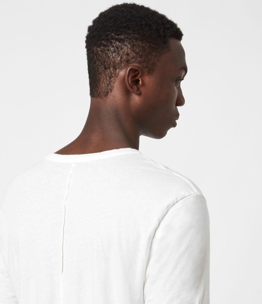 Mens Kershaw Crew T-Shirt (chalk_white) - Image 4