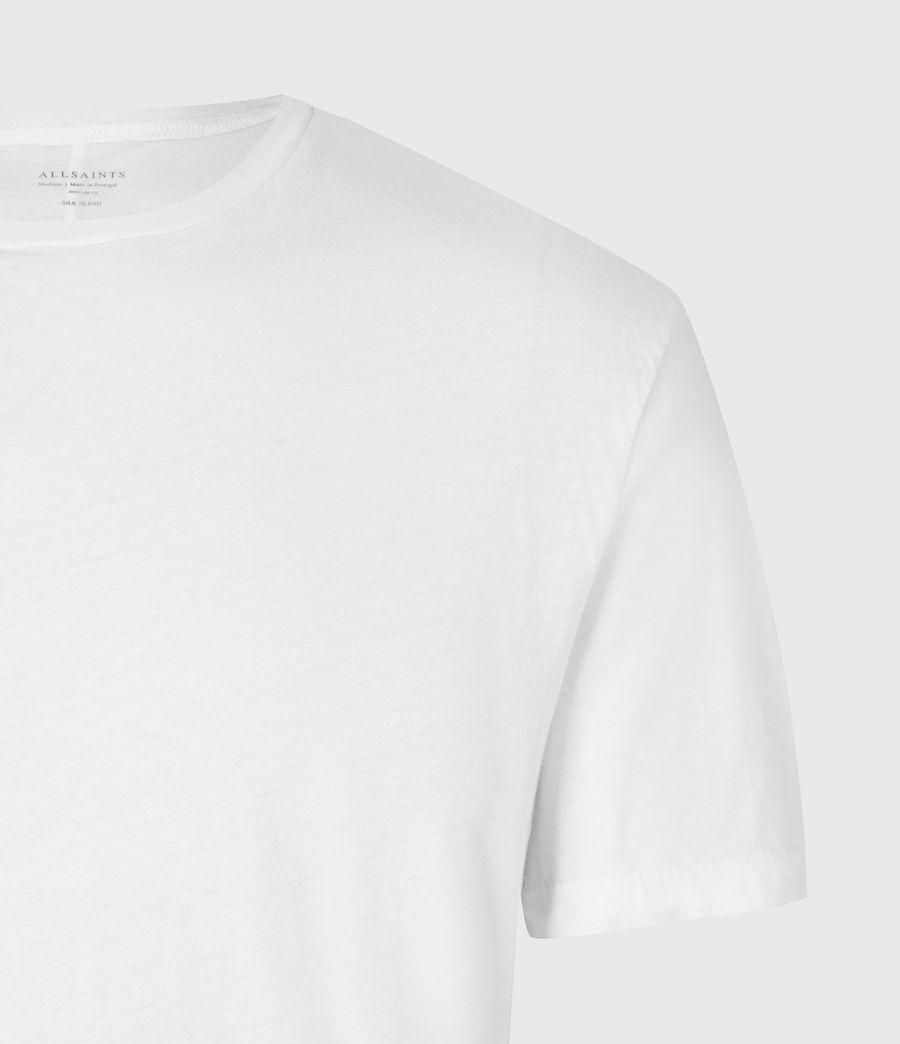 Mens Kershaw Crew T-Shirt (chalk_white) - Image 5