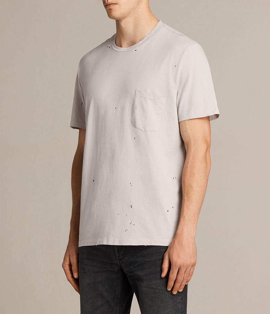 Mens Torr Crew T-Shirt (pebble) - Image 3