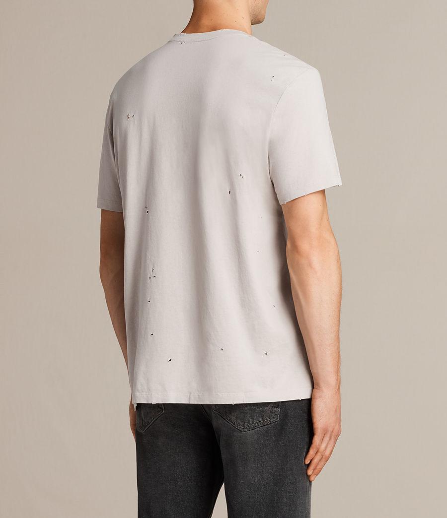 Mens Torr Crew T-Shirt (pebble) - Image 4