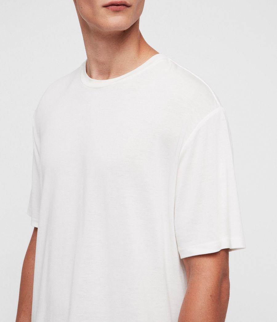 Hombres Camiseta Satum (chalk_white) - Image 2