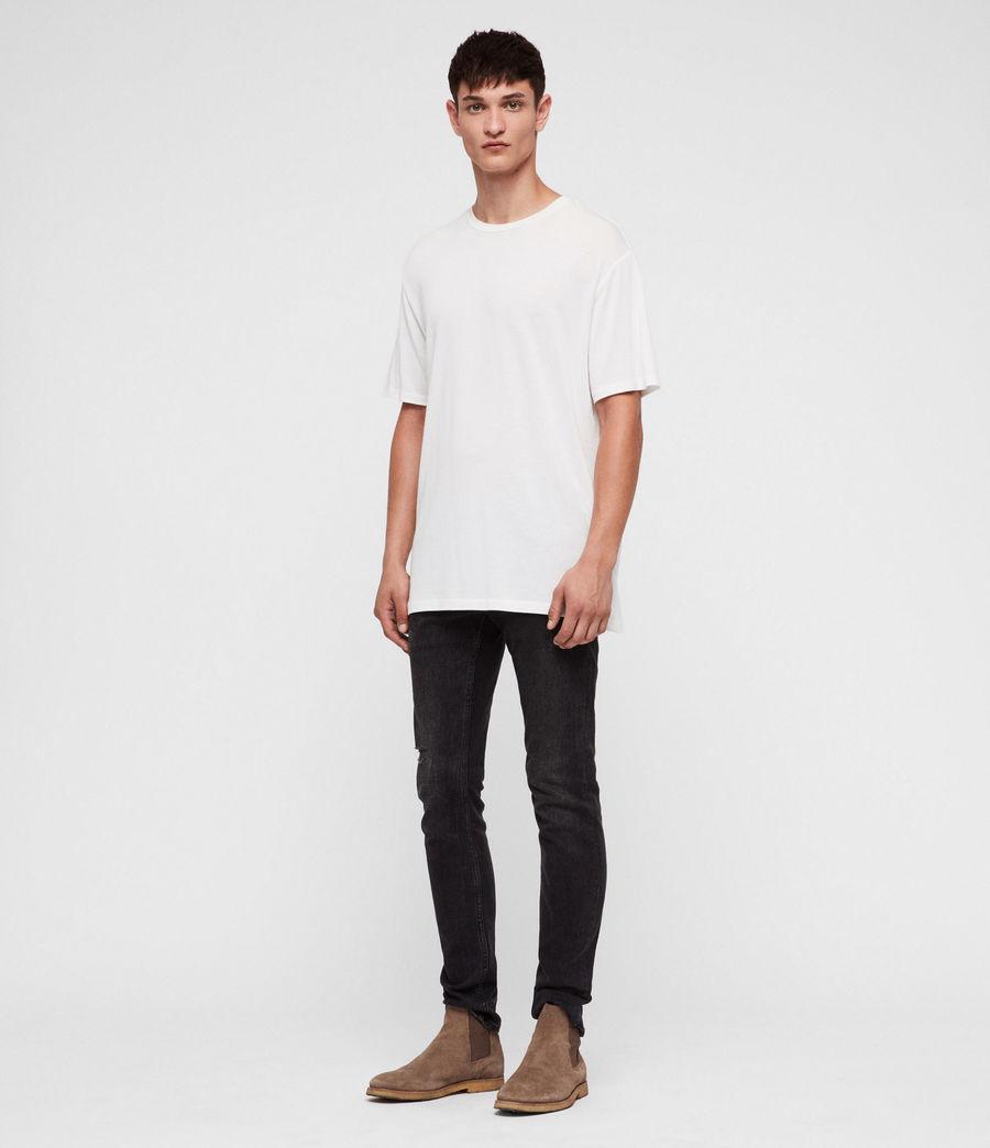 Hombres Camiseta Satum (chalk_white) - Image 3