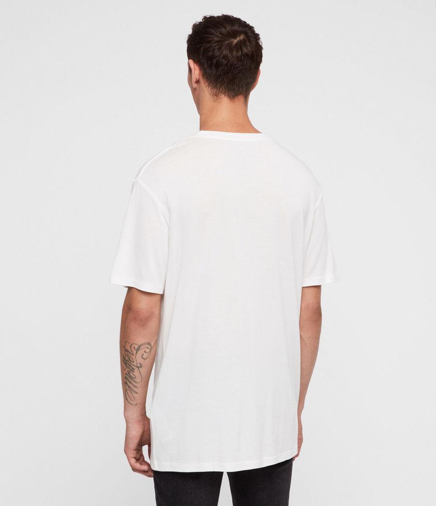 Hombres Camiseta Satum (chalk_white) - Image 4