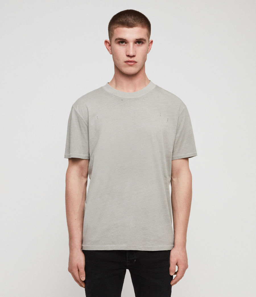 Uomo T-shirt Sunset (putty_grey) - Image 1