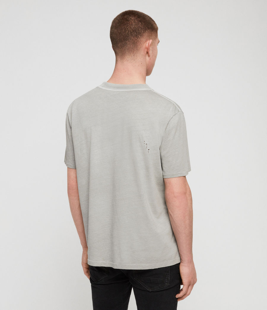 Uomo T-shirt Sunset (putty_grey) - Image 6